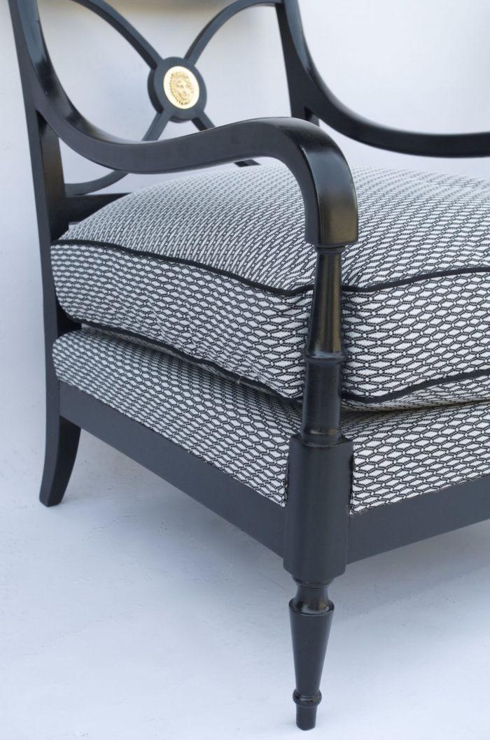 Maison jansen empire armchairs
