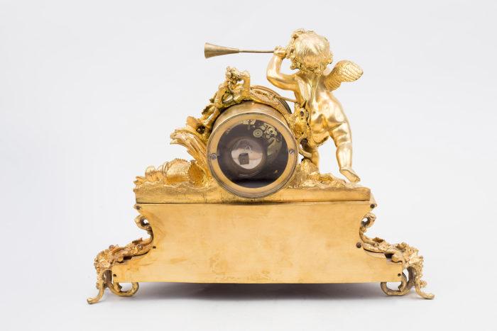 Horloge style Louis XVI bronze dos