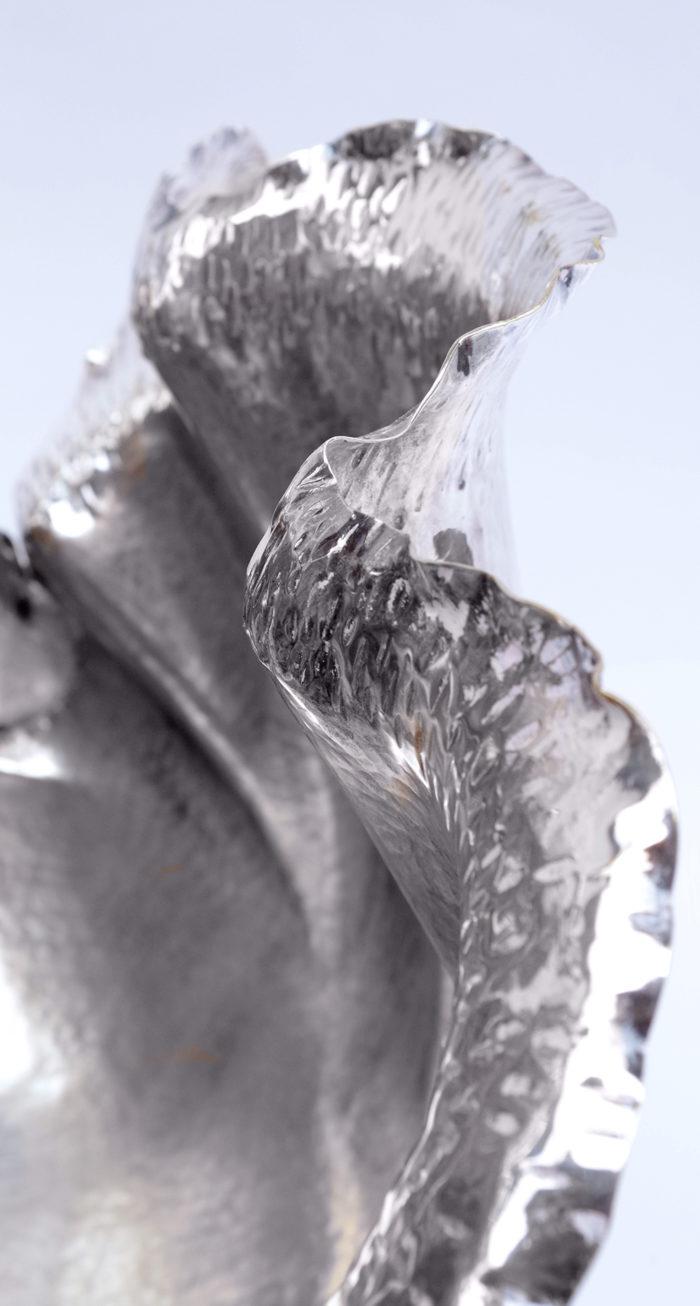 rafraîchissoir dior métal argenté détail