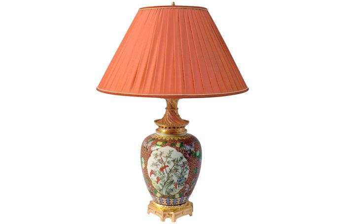 lampe porcelaine potiche