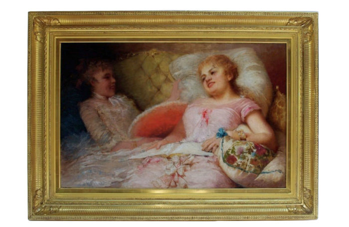 zurbo peinture huile toile femmes