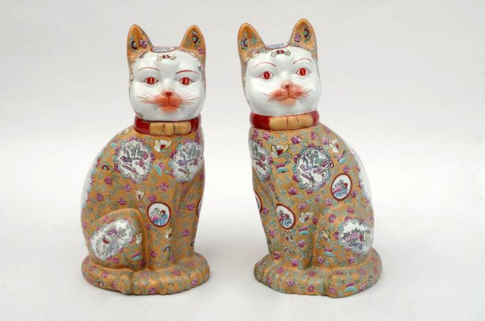 chats porcelaine canton 2