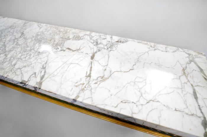 console louis XVI entrelacs marbre 2