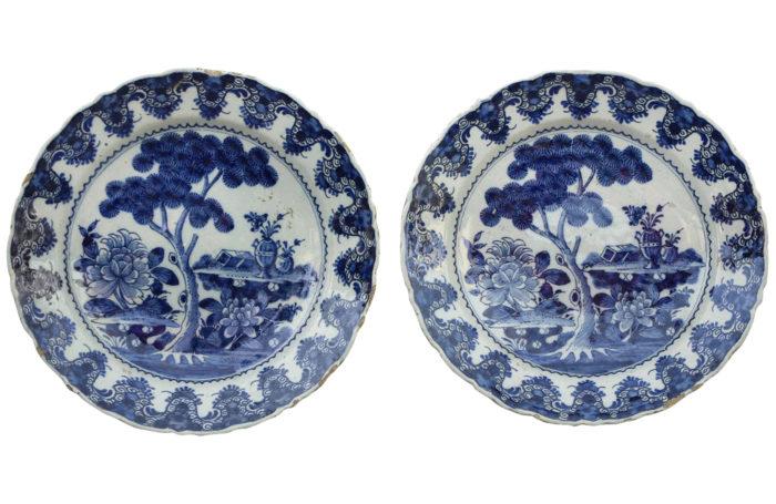 plates Delft Lampetkan