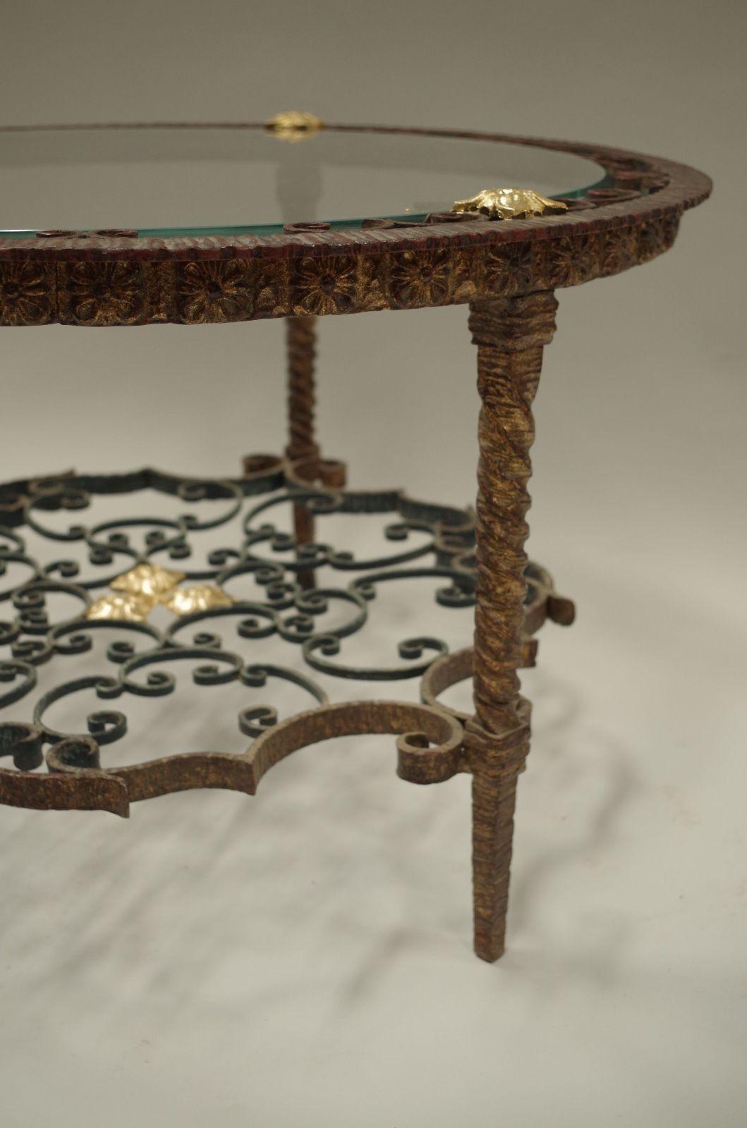 Wrought Iron Italian Table