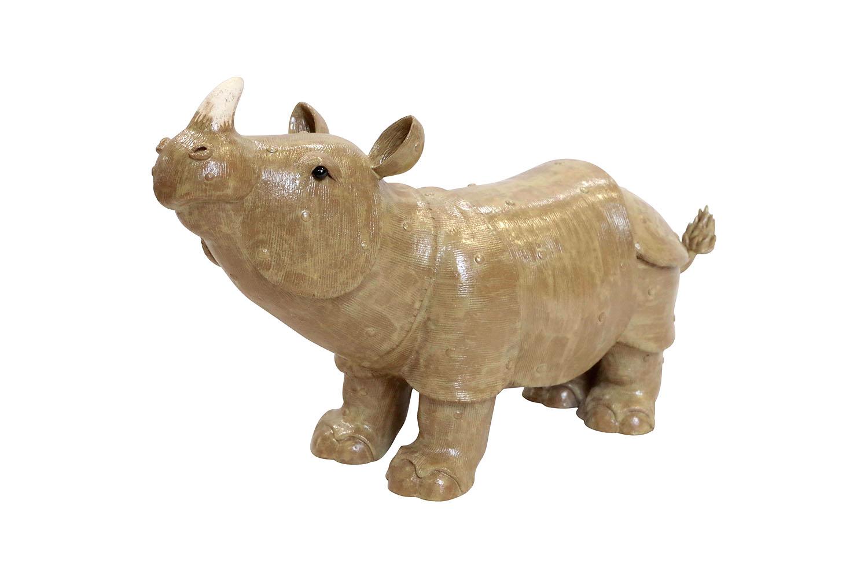 rhinocéros grès valérie courtet