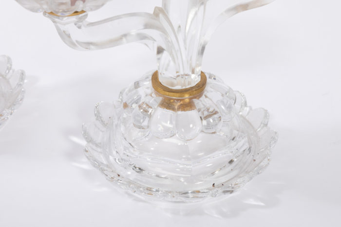 bougeoirs cristal baccarat base