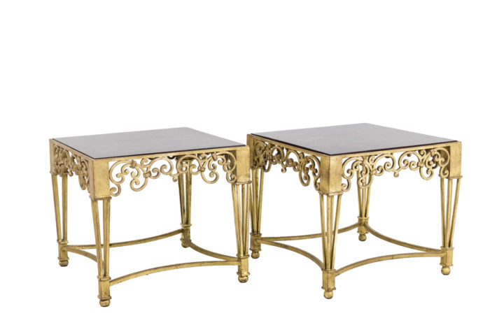 chinese side tables wrought iron