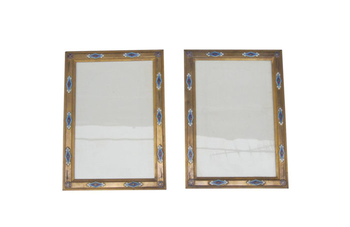 enamel cloisonne bronze frames