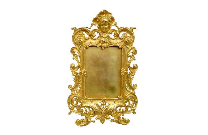Cadre Louis XV en bronze doré