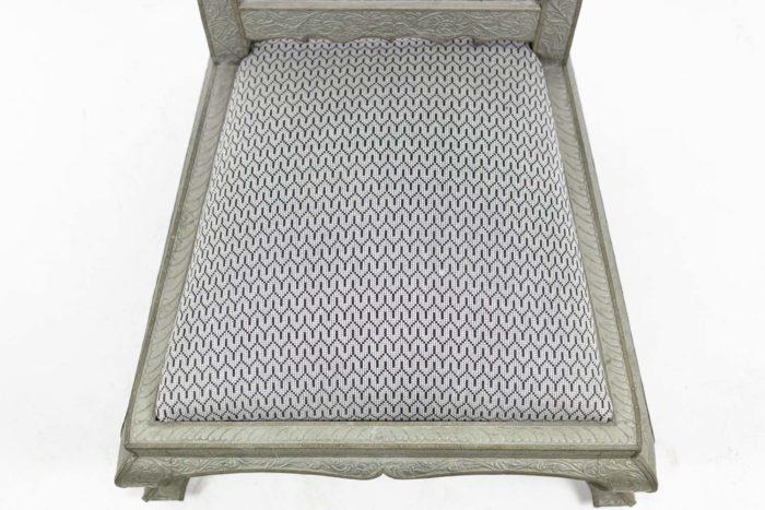 chauffeuses style mauresques métal repoussé assise