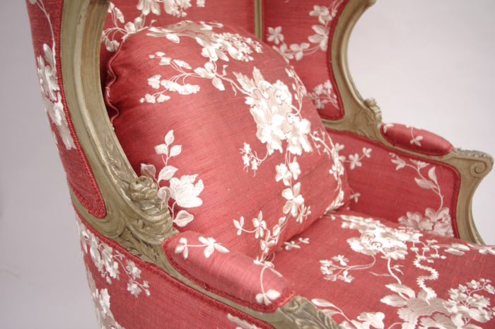 canopy hood daybed Louis XV
