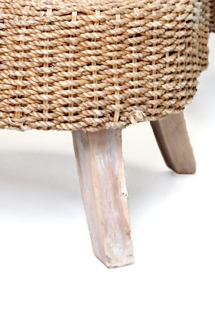 rope armchair one armrest leg