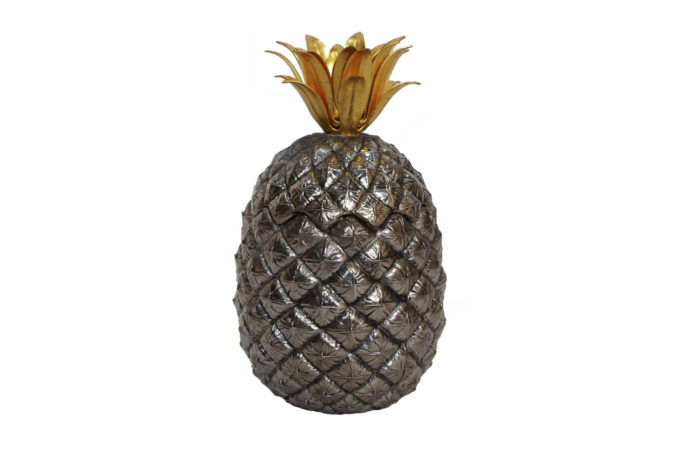 pineapple metal ice bucket