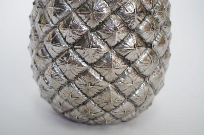 ananas glaçons métal 1970