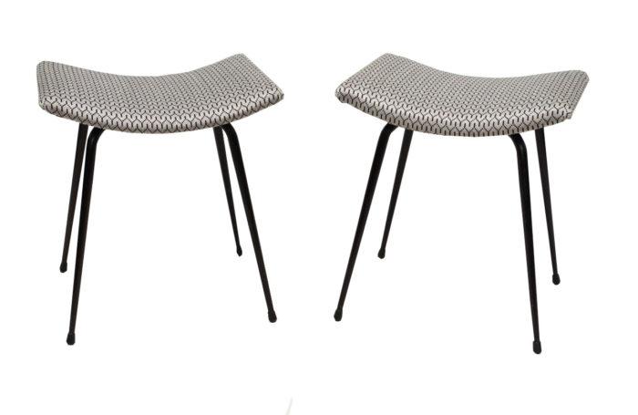 1950s steel stools