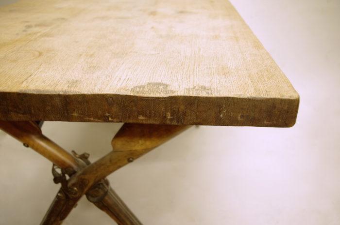 table fusils chene