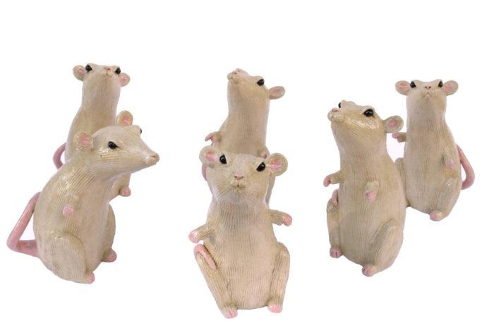 glazed stoneware rats valerie courtet