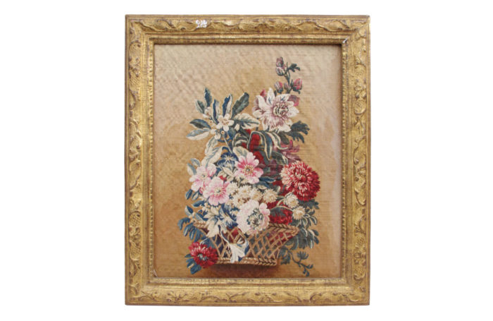 flowers aubusson tapestry