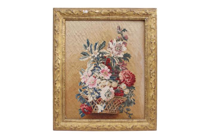 aubusson tapisserie fleurs