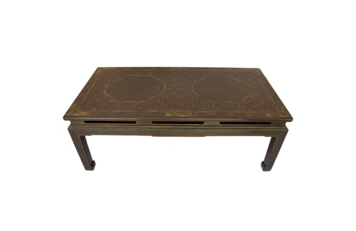 coffee table green chinese style