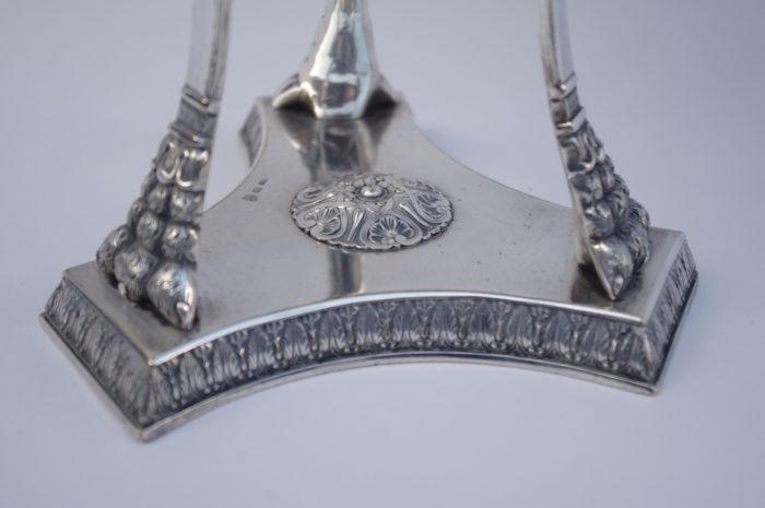 athénienne empire bronze argenté