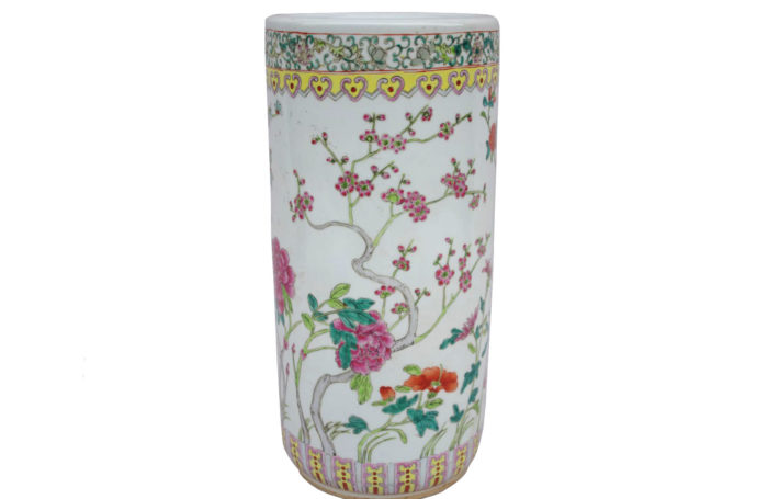 canton porcelain umbrella stand