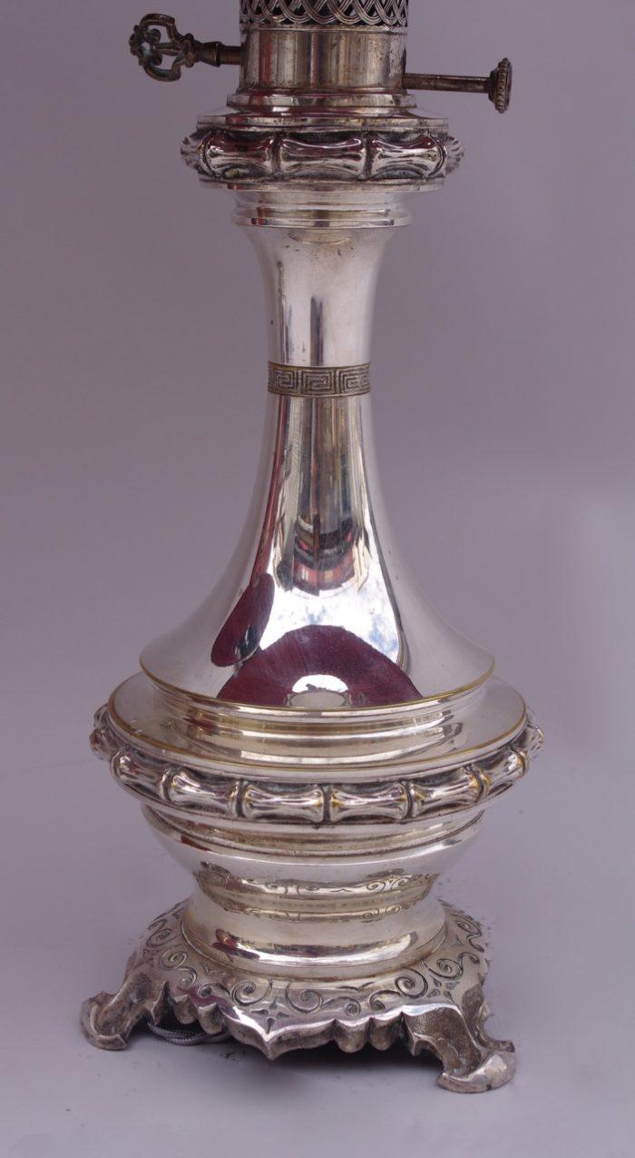 lampes bambou laiton bronze