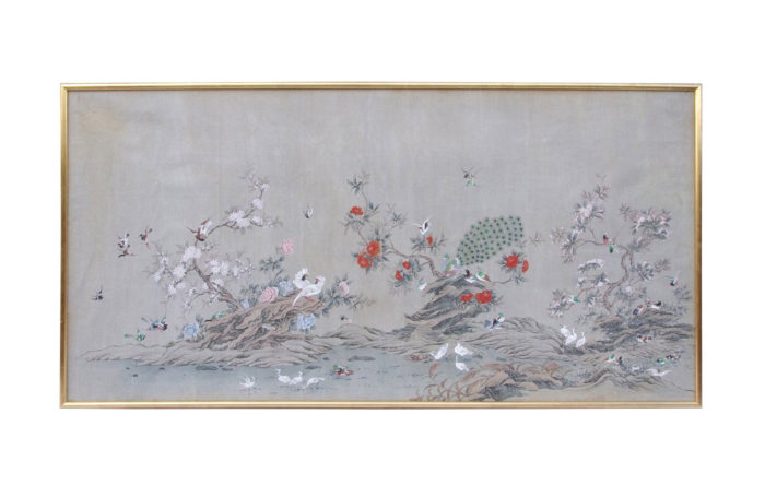 chinese canvas panel