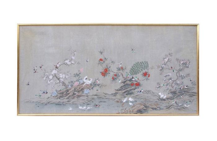 toile peinte chinois