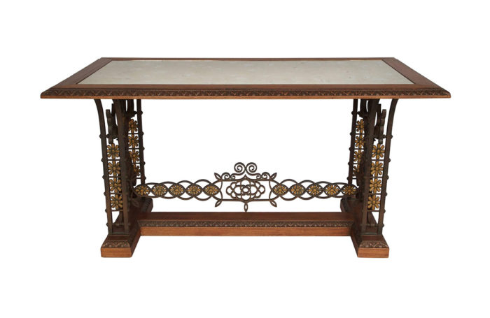 middle table wrought iron