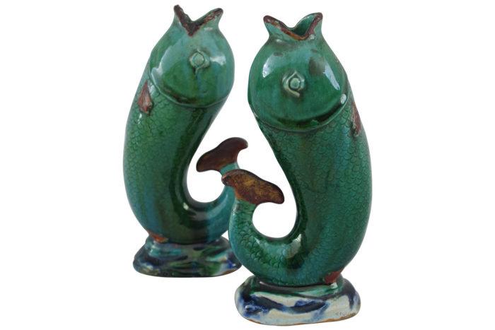 céramique gres émaillé vase soliflore