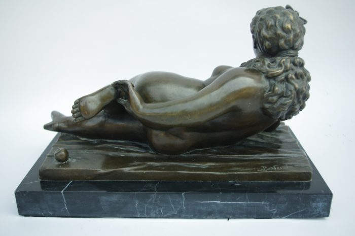 sculpture bronze femme nue botero