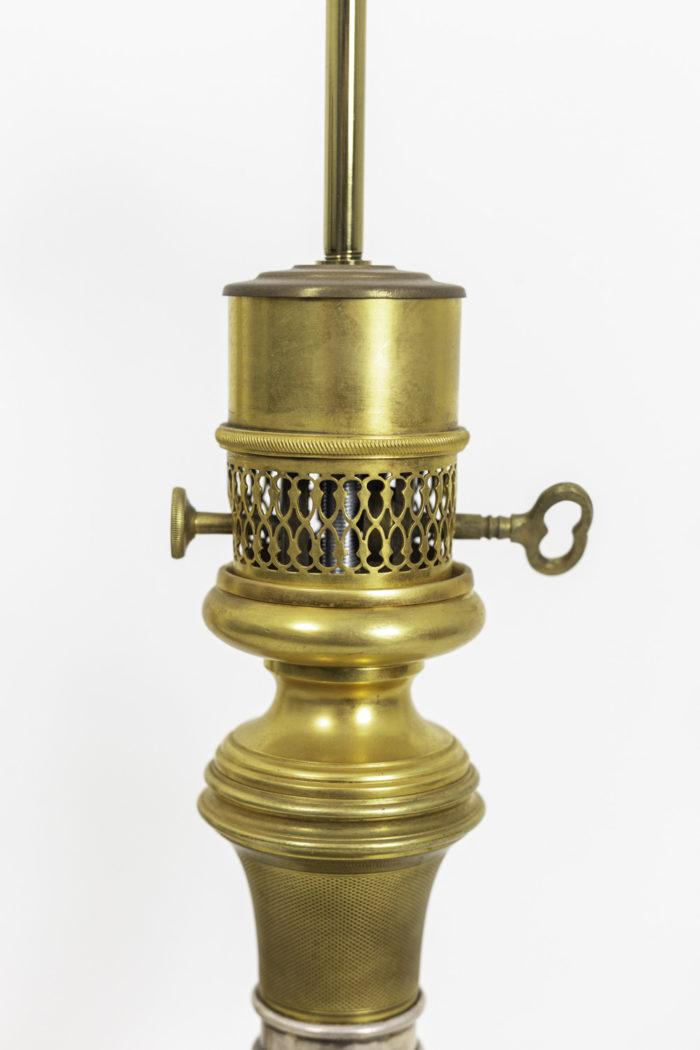 maison gagneau lamps guilloche gilt brass mount
