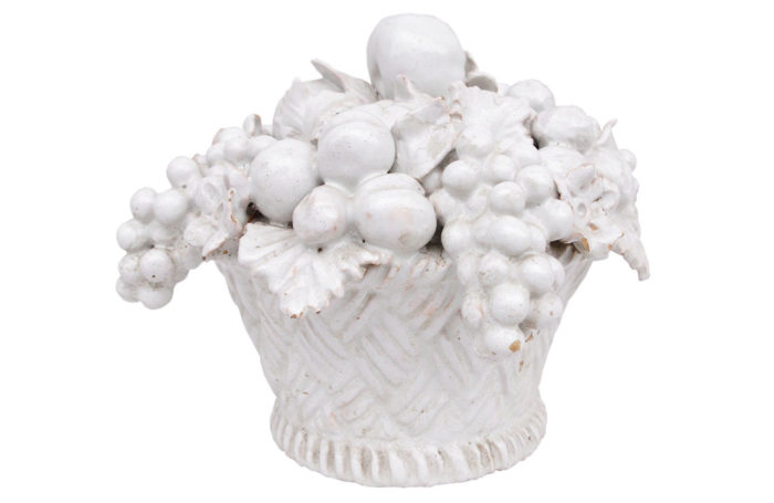malicorne earthenware basket