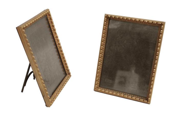 gilt bronze frames