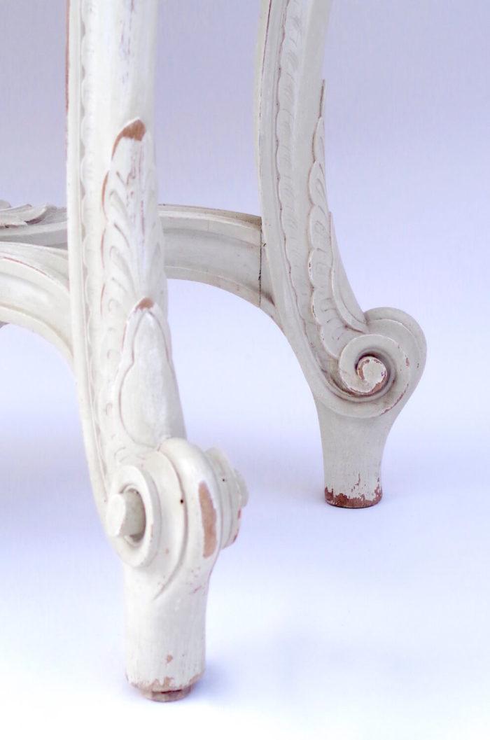console Louis XV 1900 bois marbre
