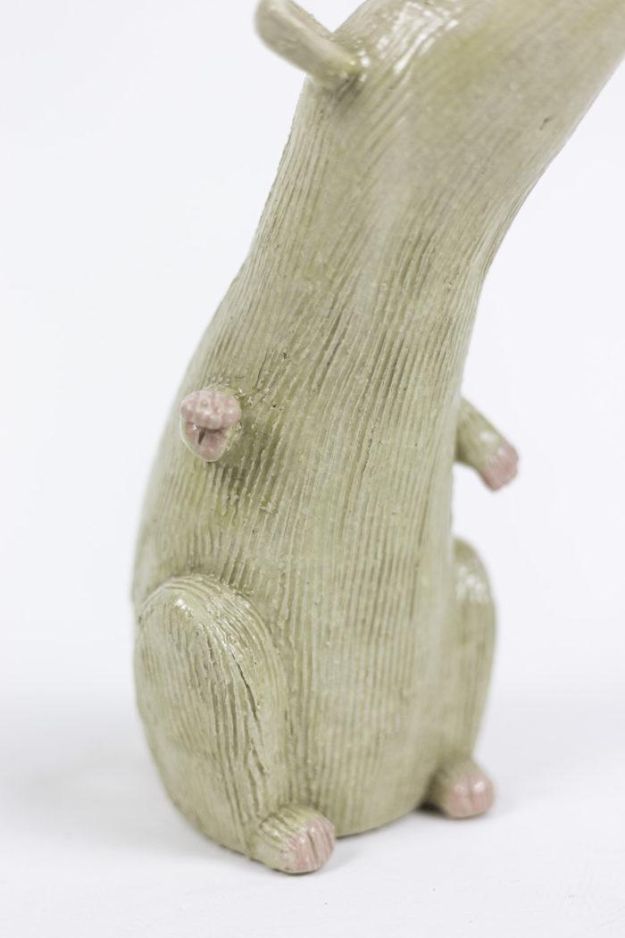 valérie courtet sculpture rat pattes