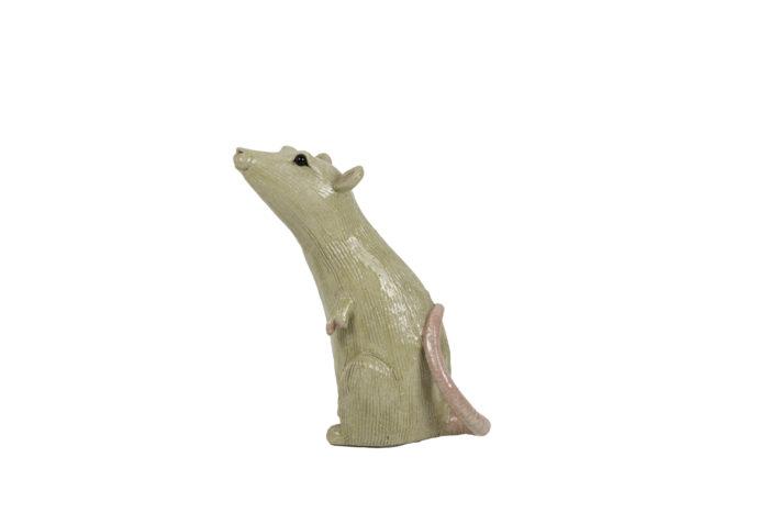 valérie courtet sculpture rat side