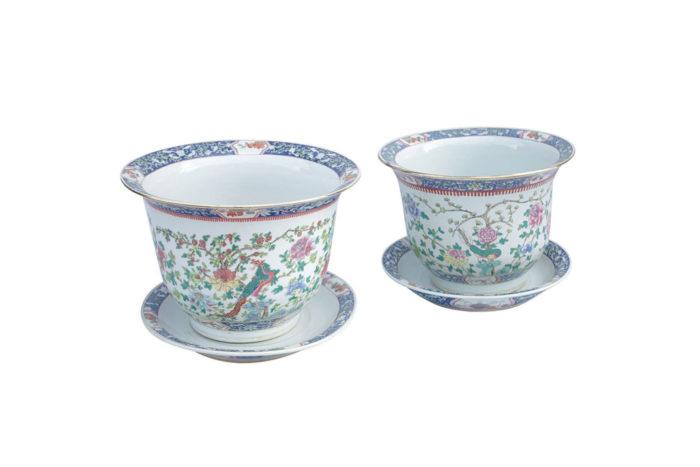 cache-pots porcelaine chinoise