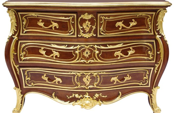 commode louis xv bellanger face