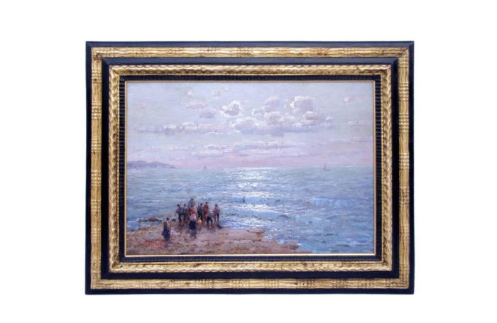 oil panel fishermen beach morello