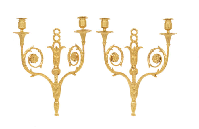 maison bagues wall lights louis xvi style