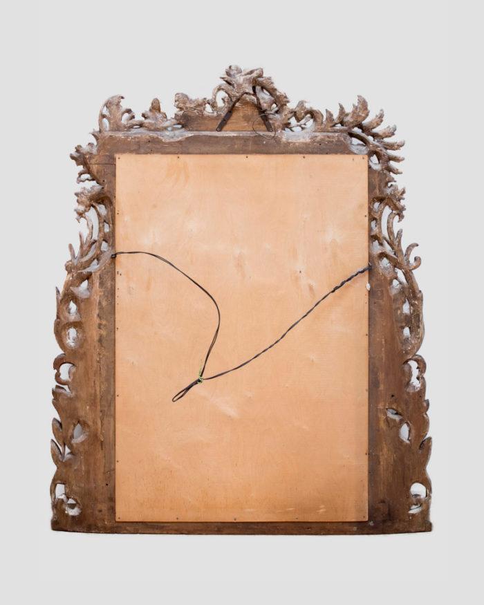 Miroir-bois-sculpté-rococo-dos