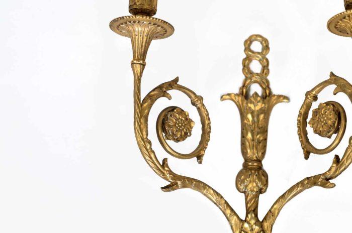 bagues appliques bronze doré style louis xvi 3