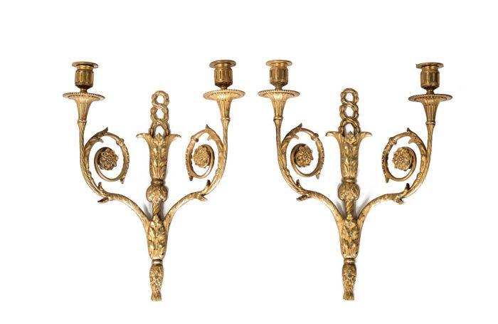 maison bagues appliques gilt bronze louis xvi style
