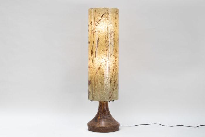 lampe accolay ceramique résine colonne 2