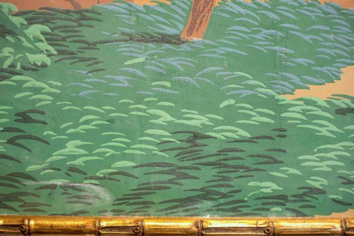 papier peint zuber détail hindoustan
