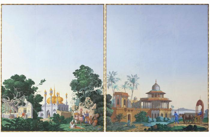 wallpaper  zuber hindoustan