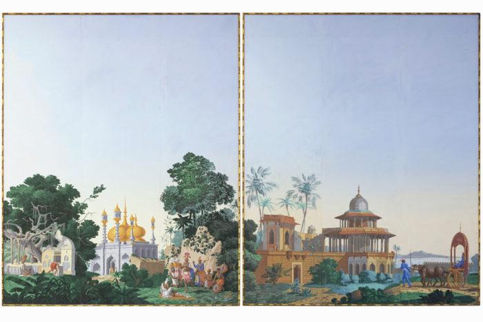 papier peint zuber hindoustan